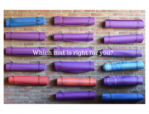 Magic carpet ride – choosing your yoga mat